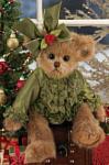 Bearington Мишка в зеленой рубашке с бантиком (36 см) (173180)