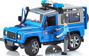 Bruder Land Rover Defender Station Wagon Police vehicle 02597