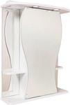 Onika Шкаф с зеркалом Фигура 55.01 (белый) (205524)