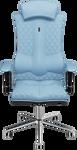 Kulik System Elegance (с подголовником, светло-синий)