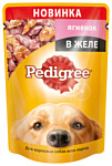 Pedigree (0.1 кг) 1 шт. Для взрослых собак всех пород с ягненком в желе