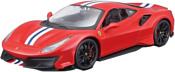 Bburago Ferrari 488 Pista 18-26026 (красный)