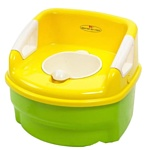 Jane Educational musical potty with cover and booster step (40336)