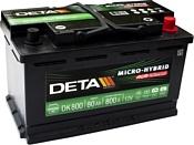 DETA Micro-Hybrid AGM DK800 (80Ah)