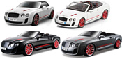 Bburago Bentley Continental Supersports Convertible ISR 18-11035