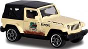 Majorette Explorer 212057601 Jeep Wrangler (бежевый)