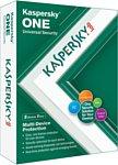 Kaspersky ONE (3 устройства, 1 год, продление, BOX)