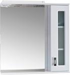 Onika Шкаф с зеркалом Кристалл 67.02 правый (белый) (206706)