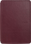 Amazon Kindle Touch Leather Cover Wine Purple
