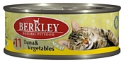 Berkley (0.1 кг) 1 шт. Паштет для кошек #11 Тунец с овощами