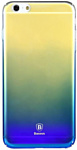 Baseus Ultra Slim для iPhone 6/6S Plus (синий/желтый)