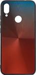 EXPERTS SHINY TPU CASE для Xiaomi Redmi Note 7 (красно-синий)