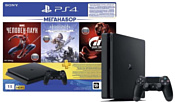 Sony PlayStation 4 Slim 1TB + GTS/HZD CE/SpiderM
