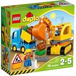 LEGO Duplo 10812 Грузовик и гусеничный экскаватор