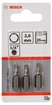 Bosch 2607001718 3 предмета