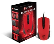 MSI Clutch GM40 Red GAMING Mouse, USB