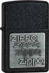 Zippo Classic 363 Black Crackle