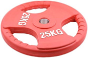 American Fitness Olympic Rubber Plate 25 кг
