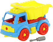 Полесье 73006 Автомобиль-самосвал (голубой/желтый)