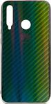 EXPERTS Aurora Glass для Huawei P20 Lite с LOGO (зеленый)