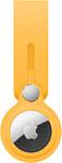 Apple кожаный с подвеской для AirTag (ярко-желтый) MK0W3