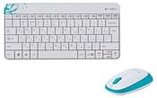 Logitech Wireless Combo MK240 White USB