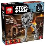 Lepin Star Plan 05066 Разведывательный транспортный шагоход AT-ST