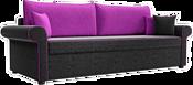 Mebelico Милфорд 60783 (черный/фиолетовый)