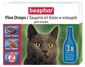 Beaphar Flea Drops для кошек (3 пипетки)