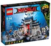 LEGO The Ninjago Movie 70617 Храм Последнего великого ордена