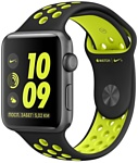 Apple Watch Nike+ 42mm Space Gray with Black/Volt Nike Band (MP0A2)
