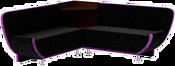 Mebelico Лотос 58901 (черный/фиолетовый)
