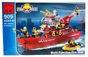 Enlighten Brick Пожарные 909 Пожарный корабль