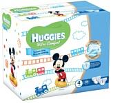Huggies Ultra Comfort 4 (8-14 кг) для мальчиков 126 шт.