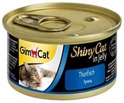 GimCat (0.07 кг) 48 шт. ShinyCat с тунцом