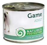 Nature's Protection Консервы Dog Adult Game (0.4 кг) 1 шт.