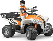 Bruder Quad with driver 63000