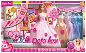 Defa Lucy с нарядами и аксессуарами 6073B