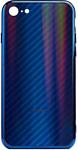 EXPERTS AURORA GLASS CASE для iPhone 6 с LOGO (синий)