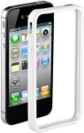 Deppa Bumper White для Apple iPhone 4/4S (63106)