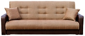 Луховицкая Мебельная Фабрика Стрит (микс коричневый с подушками)