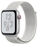 Apple Watch Series 4 GPS + Cellular 40mm Aluminum Case with Nike Sport Loop