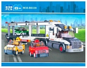 SLUBAN Городская серия M38-B0339 TRANSPORTER TRUCK