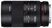 Samyang 100mm f/2.8 ED UMC Macro Nikon F
