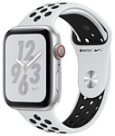Apple Watch Series 4 GPS + Cellular 40mm Aluminum Case with Nike Sport Band