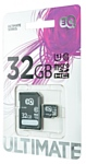 3Q ULTIMATE microSDHC Class 10 UHS-I U1 32GB + SD adapter