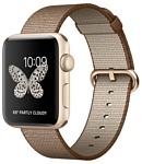 Apple Watch Series 2 42mm Gold with Woven Nylon (MNPP2)