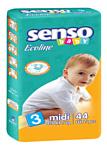 Senso Baby Ecoline Midi 3 (44 шт.)