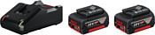 Bosch GBA 18V+GAL 18V-40 Professional 18В/4 Ah + 14.4-18В (1600A019S0)