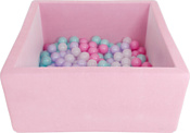 Romana Airpool Box ДМФ-МК-02.55.01 (150 шариков розовых, розовый)